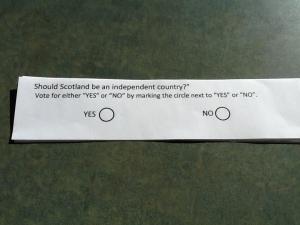 The ballot.