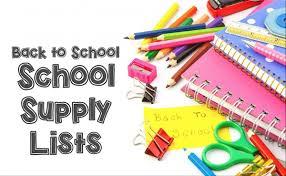 schoolsupplylists