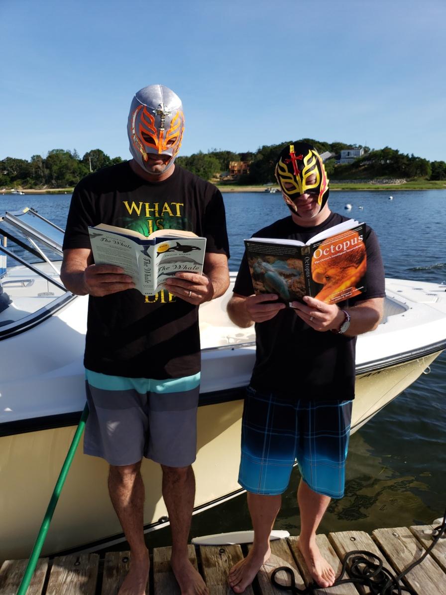 Mr. Cullen & Mr. Wrobel are reading incognito in Chatham.